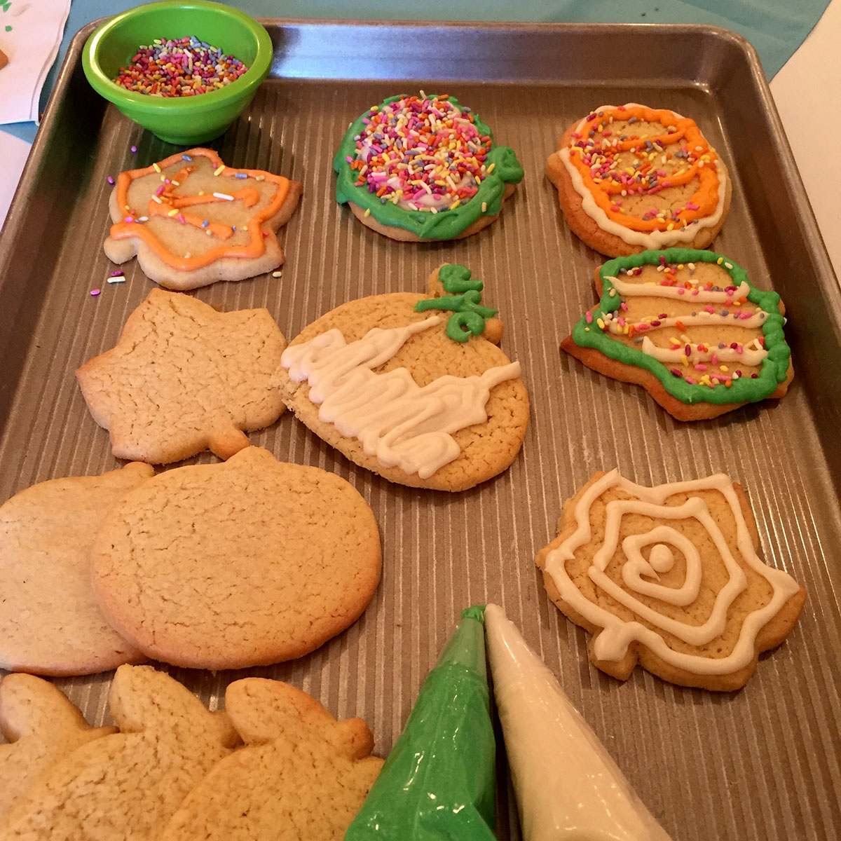 Decorated Foodstirs Sweet Tooth Sugar Cookies